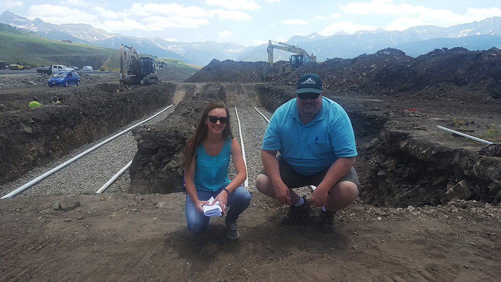 Amie Martell and Gregg Anderson of Alpine Land Company