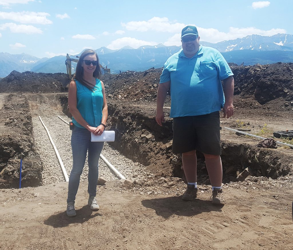 Alpine Land Consulting Amie Martell and Gregg Anderson